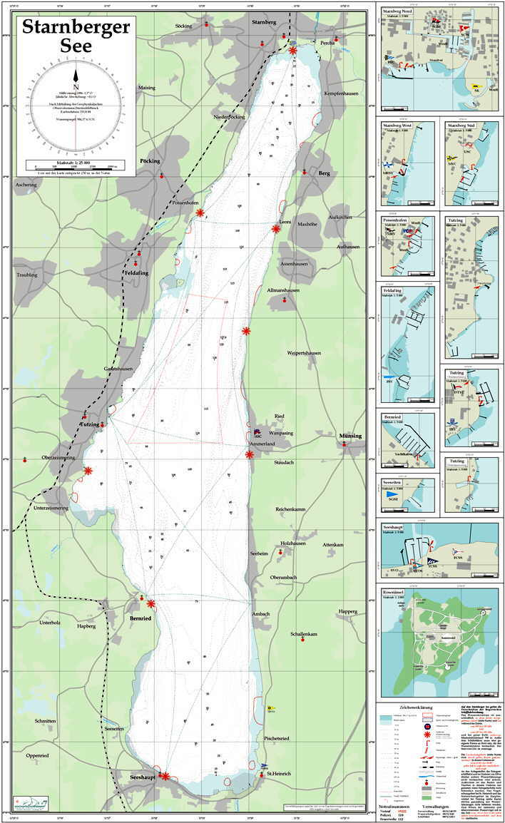 Seekarten Binnen Onlineshop Der Segler